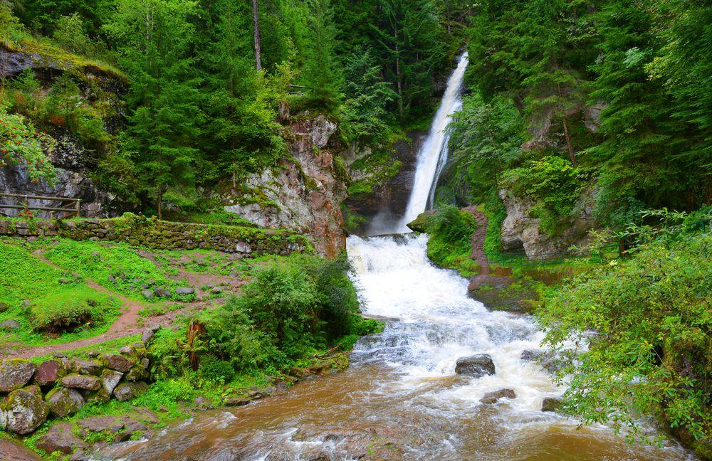 la Cascata della Val di Fiemme
