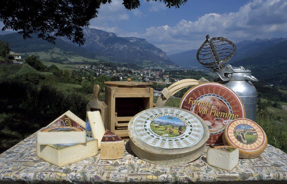 I formaggi di Cavalese e della Val di Fiemme