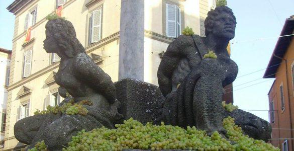 Fontana dei Quattro Mori, Marino